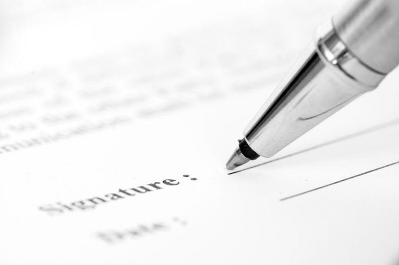 Agregar tus propios términos al contrato de venta